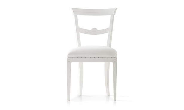 FA506 - Chair upholstered and carved