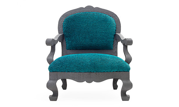 GB556 - Easychair with armrests