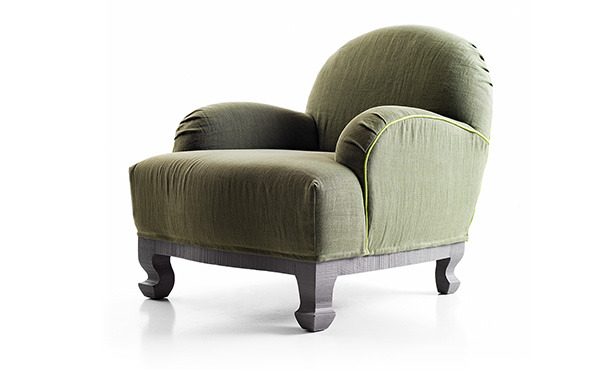 GB575 - Easychair upholstered