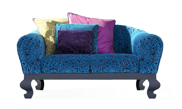 GB576 - Sofa upholstered