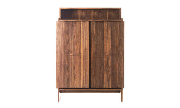 NOVELLA UP - Cabinet in solid wood