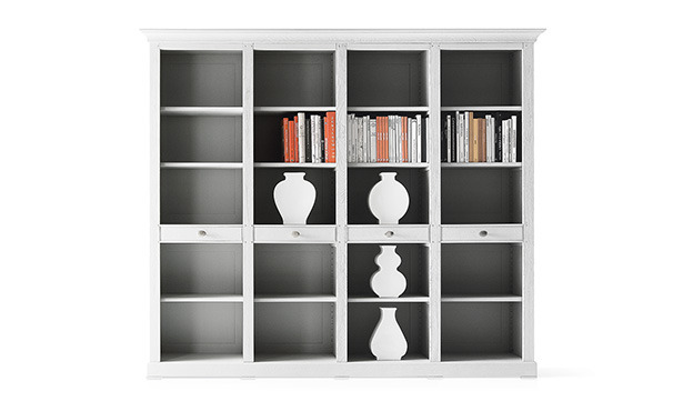 L111 - Bookcase in solid wood