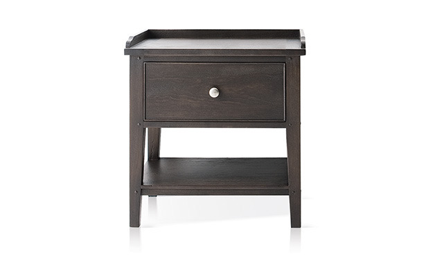 L621 - Bedside table with drawer and lower shelf