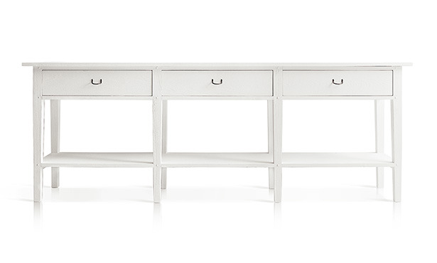 L565 - Console with drawers and lower shelf