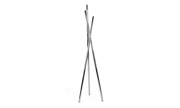ASTER - Coat stand in stainless steel