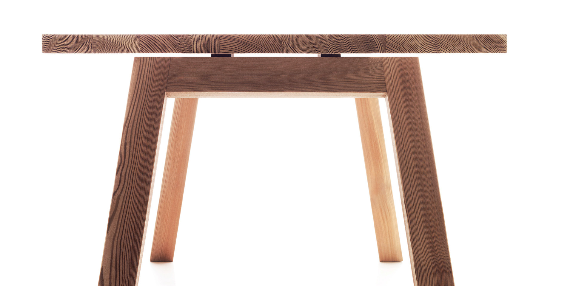 Accento table - natural larch